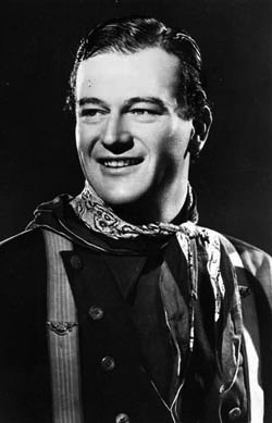 A Young John Wayne: John Wayne's first film role was as